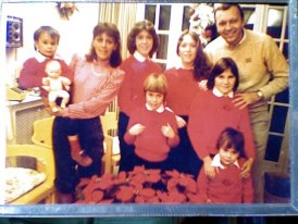 My family (before the fall), Circa 1981
