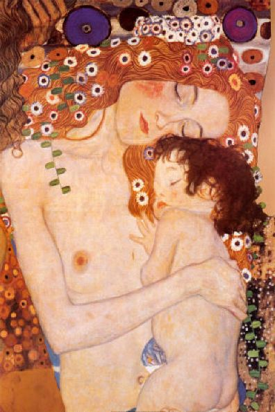 klimt-mother-and-child