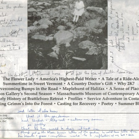 Poetry Notes, 1999